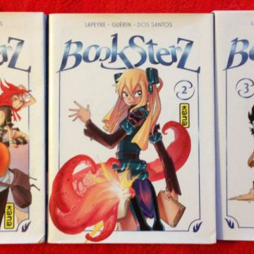 lot de 3 mangas Booksterz
