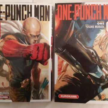 One Punch Man tomes 1 et 2