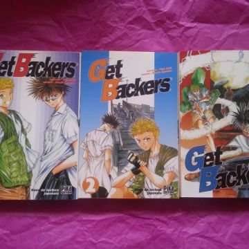 Get Backers Tome 1 à 3
