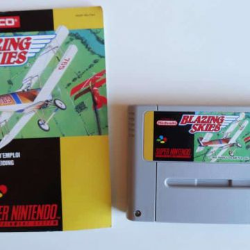Blazing Skies super nintendo