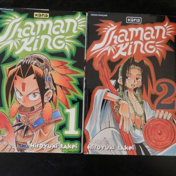 Shaman king tomes 1 et 2