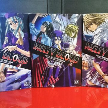 Melty Blood 1 à 3