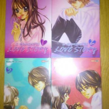 a romantic love story - shojo