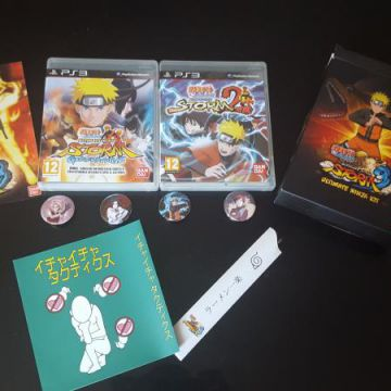 Jeux ps3 naruto