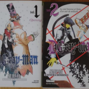D.gray-man tomes 1 et 2