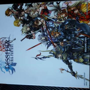 Guide officiel Final fantasy Dissidia