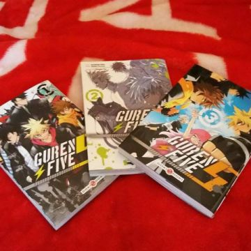 Guren Five tome 1, 2 et 3