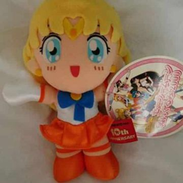 Peluche Sailor Moon - Sailor Venus - 10e anniversaire