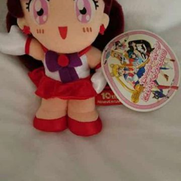 Peluche Sailor Moon - Sailor Mars - 10e anniversaire