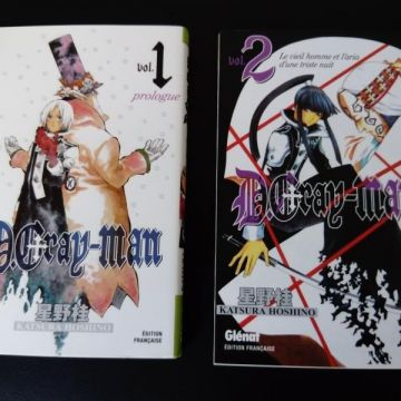 D.Gray-Man - Tomes 1 & 2 - TBE