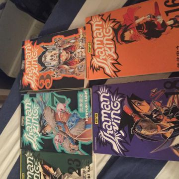 Lot Shaman King tome 3/7/10/16/18/23
