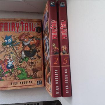 Fairy Tail - Tomes 1,2,5