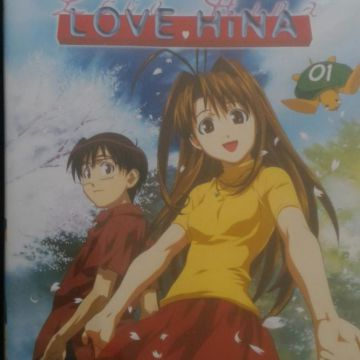 Lot de 2 dvd Love Hina