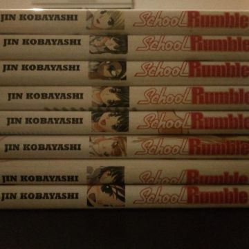 School Rumble T1 à T9 (Attention, T7 manquant)