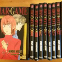 Liar Game tomes 1 à 9 (manque 8) + liar game roots of a