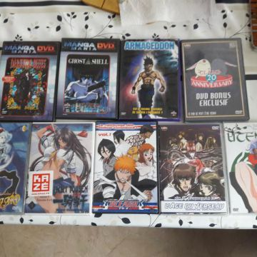 Lot de DVD manga & Film asiatique