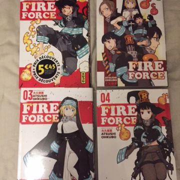 Fire Force T01 à T04