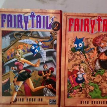 Fairy Tail Tome 1 et 2