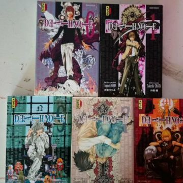 Death Note tome 1,6,7,8,9