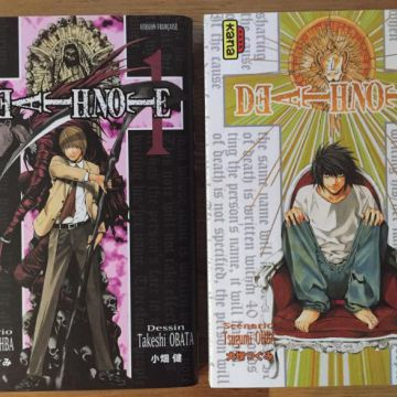 Death note Tome 1 et 2