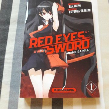 red eyes sword - akame ga kill ! Tome 1 NEUF
