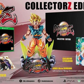 [Collector] Dragon ball fighter Z PS4 [Collector]