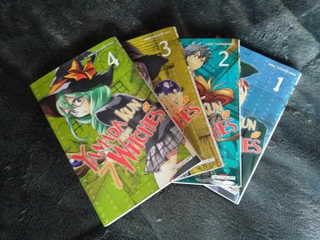 Lot 4 tomes - Yamada-kun & the 7 witches