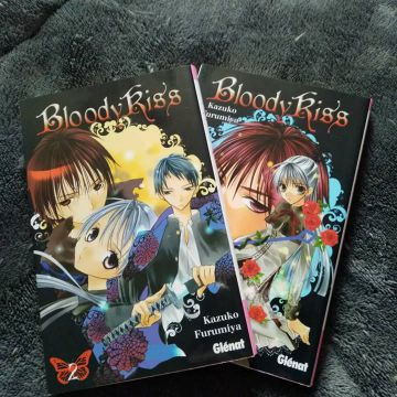 Lot 2 tomes - Bloody kiss