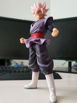 Dragon Ball Super - Figurine Goku Black Super Saiyan Rosé Ichiban Kuji E Prize