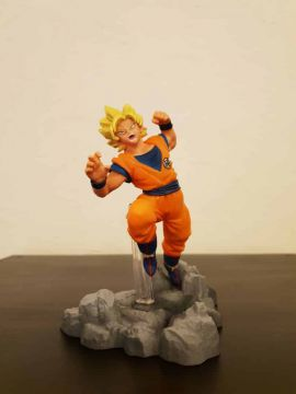 Dragon Ball Super - Figurine Sangoku SSJ Soul X Soul