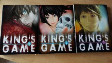 king's game T.1/2/3 VF