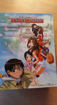 Love hina DVD edition collector