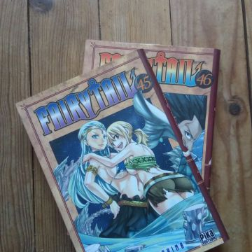 Fairy Tail tomes 45 & 46