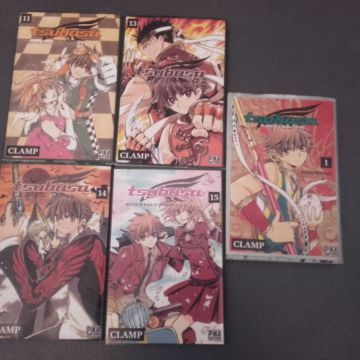 tsubasa reservoir chronicles vol. 11 13 14 15 + tsubasa world chronicle vol. 1