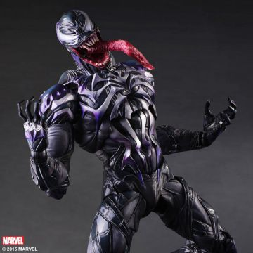 Figurine OFFICIELLE VENOM Marvel Variant Play Arts Kai Venom Figure Square Enix