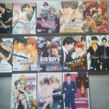Mangas yaoi Boy's love