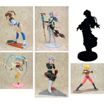 AIC - Heroine collection 5 Trading Figure