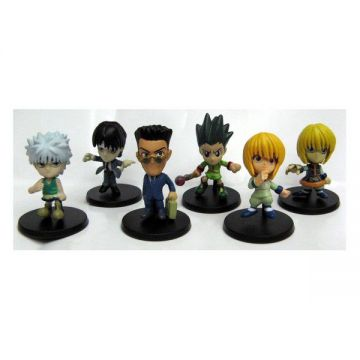 6 Minis figurines Hunter X Hunter