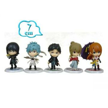 5 Figurines Gintama