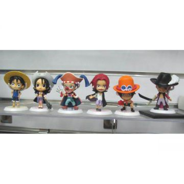 6 Figurines One Piece