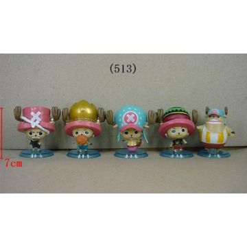 5 Figurines One Piece