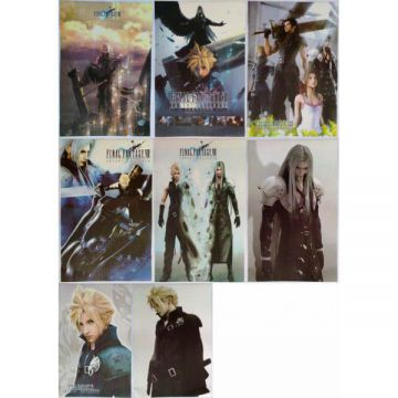 8 Posters Final Fantasy