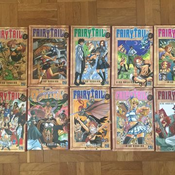 Fairy Tail tomes 1 à 10