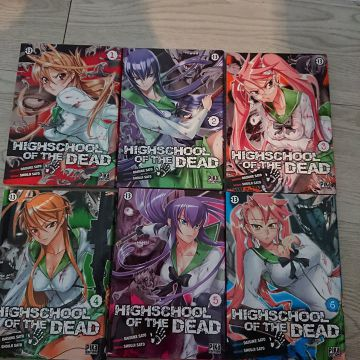 Mangas High school of the dead tome 1 à 6