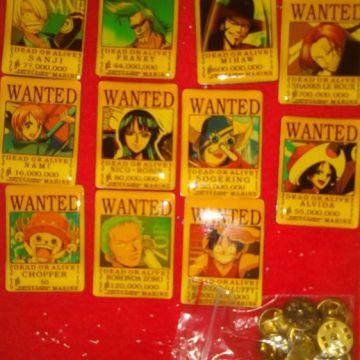 PIN'S One Piece Wanted COLLECTOR