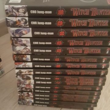 Witch Hunter tome 1 à 16
