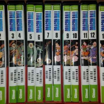 Dragon Ball édition deluxe (coffrets 2 tomes)