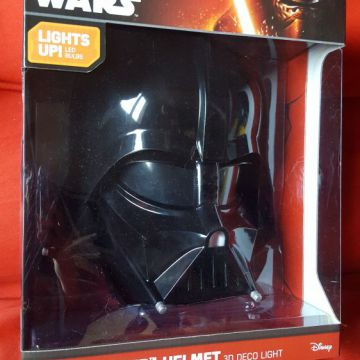 Lampe Murale 3d Deco Light Star Wars - Dark Vador